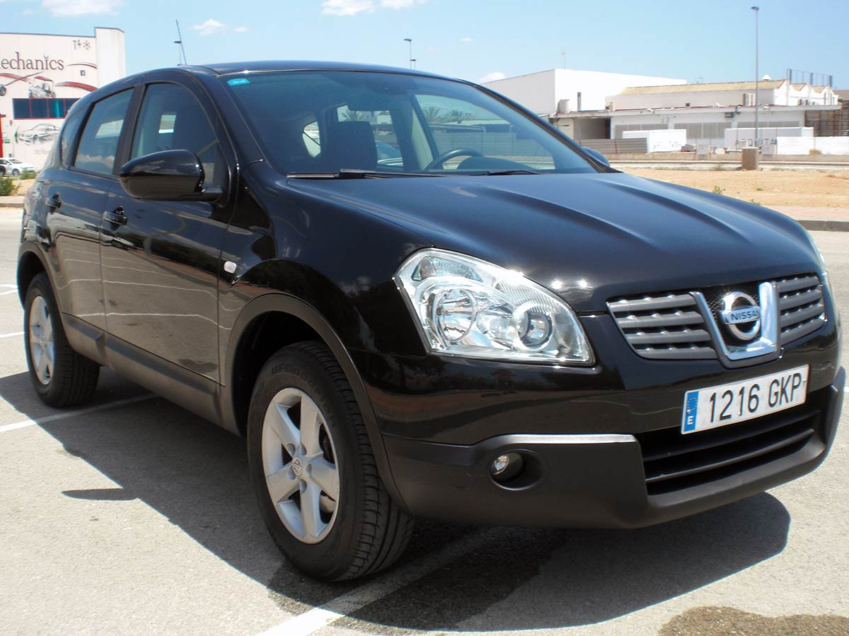 second hand nissan qashqai 4x4 auto for sale san javier. Black Bedroom Furniture Sets. Home Design Ideas