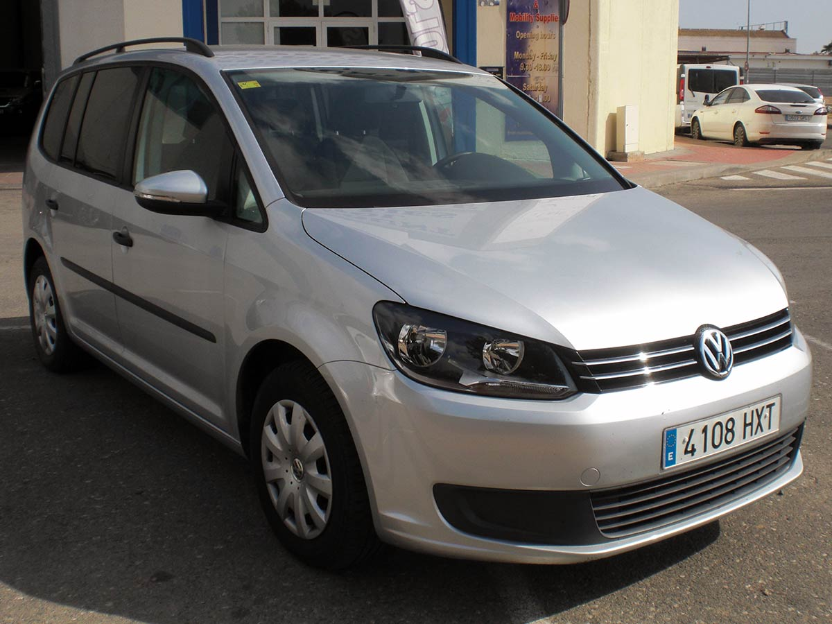7 Seater Vehicles >> Second hand VW Touran 7-Seater Auto for sale - San Javier ...