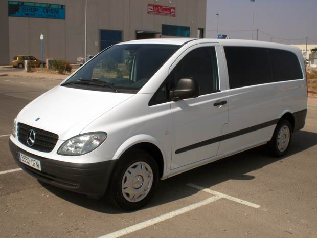 Audi Used For Sale >> Second hand Mercedes Vito 9 Seater for sale - San Javier ...
