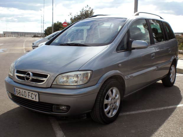 Second Hand Opel Zafira 7 Seater For Sale San Javier