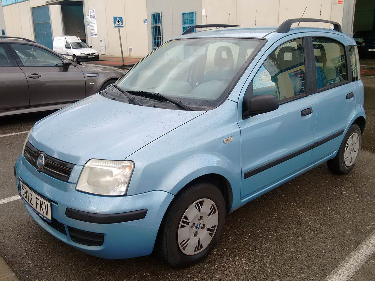 second hand fiat panda auto for sale san javier murcia costa blanca