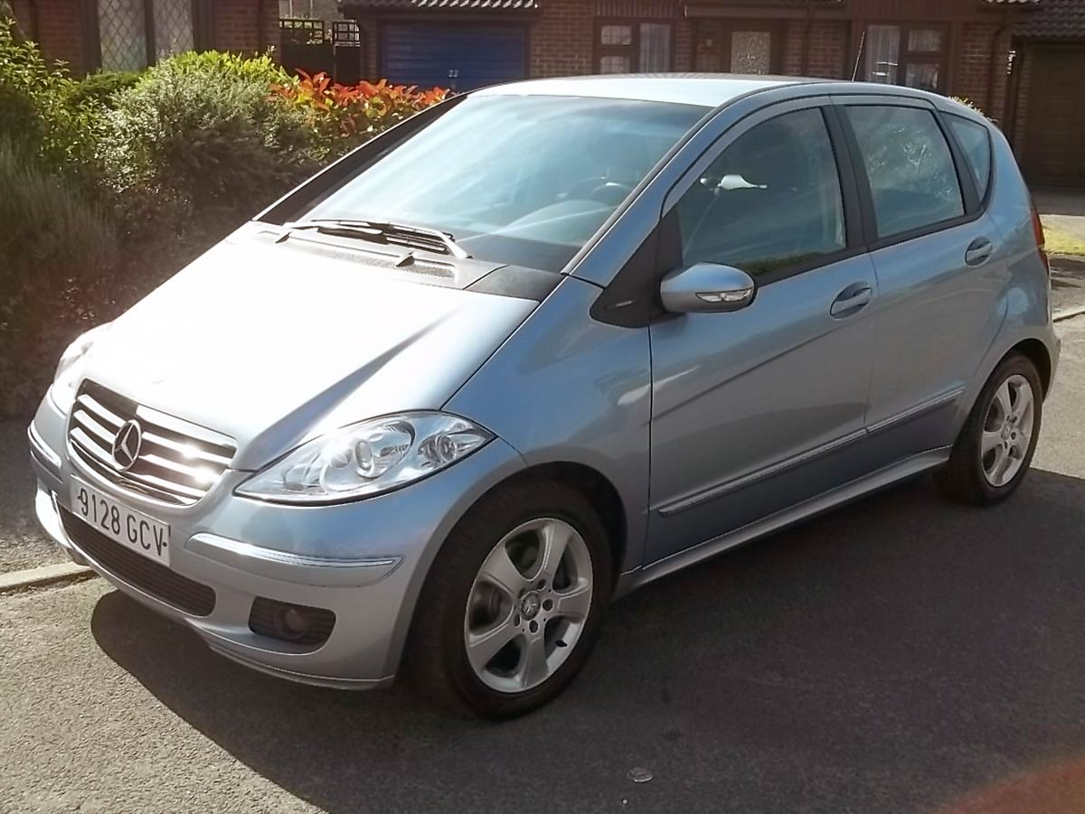 Second hand Mercedes A160 for sale - San Javier, Murcia ...