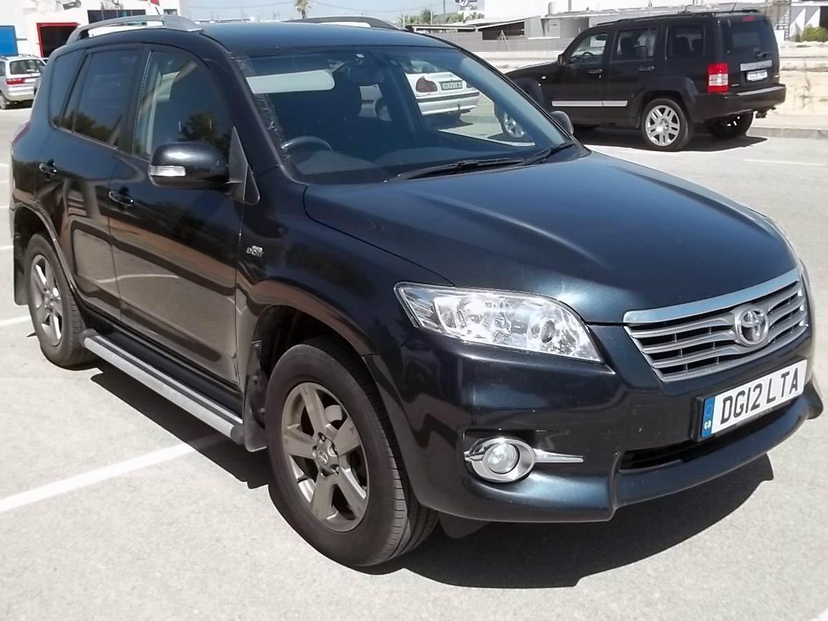 Used Toyota RAV4 Auto (RHD) Spain