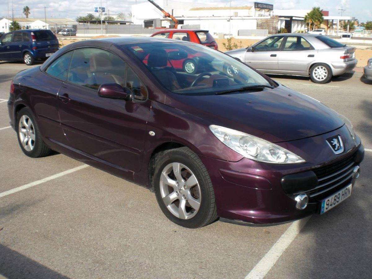 Used Peugeot 307 CC Spain