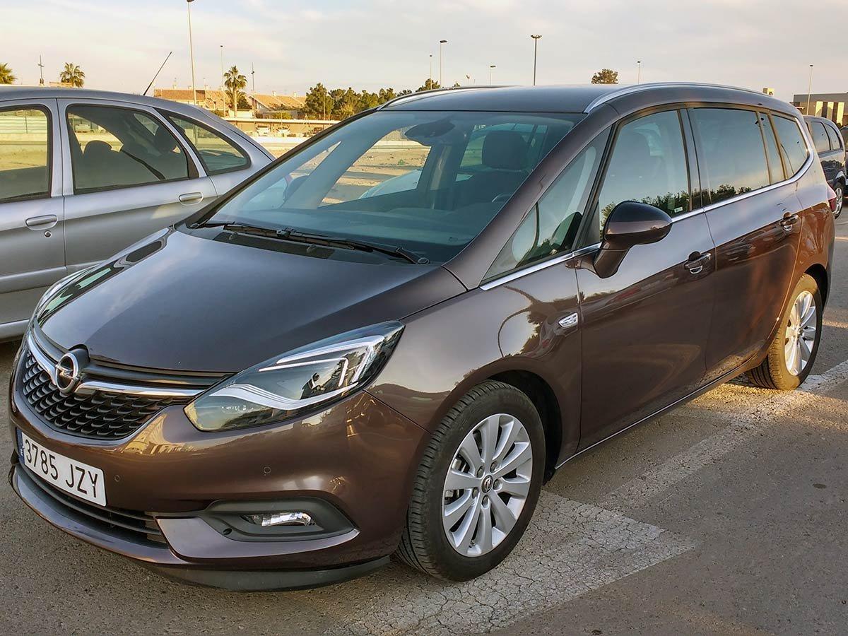Used Opel Zafira 7-Seat Auto Spain