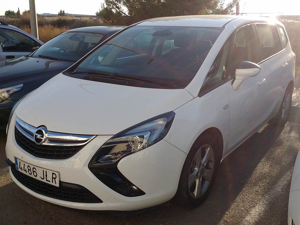 Used Opel Zafira 7-Seat Spain