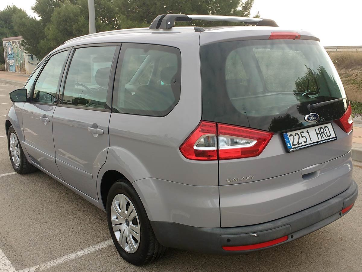 second hand ford galaxy 7 seat auto for sale san javier. Black Bedroom Furniture Sets. Home Design Ideas