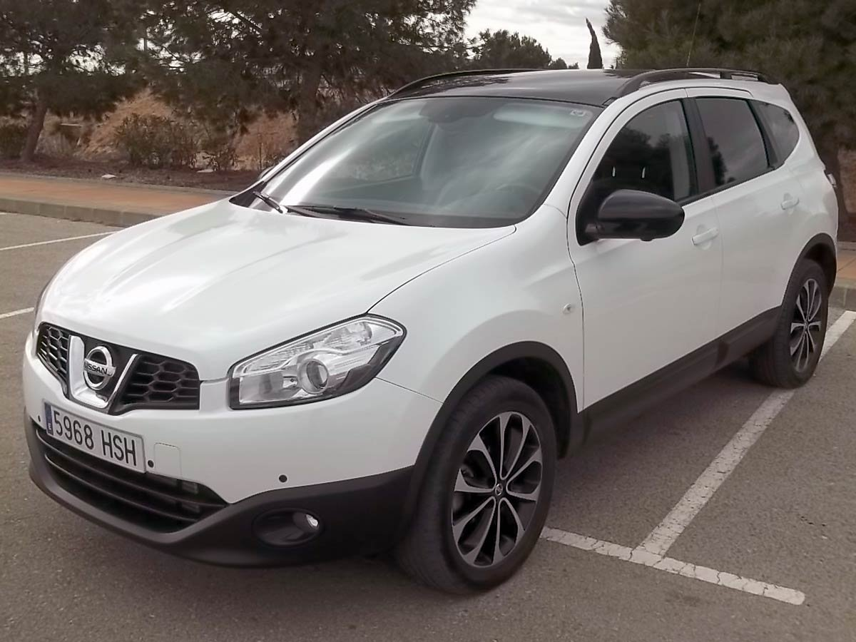 second hand nissan qashqai 2 7 seater for sale san javier murcia costa blanca. Black Bedroom Furniture Sets. Home Design Ideas