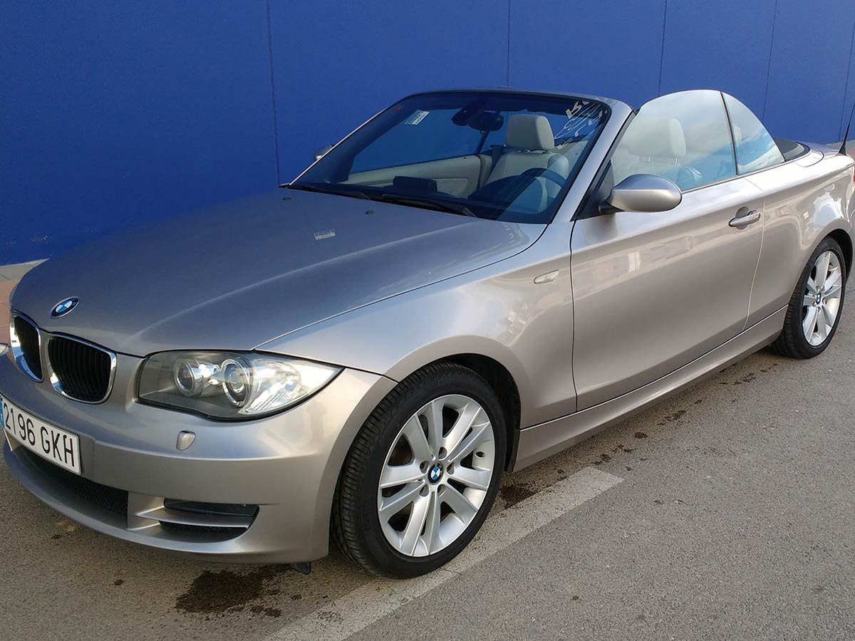 Used BMW 120 D Cabriolet Spain