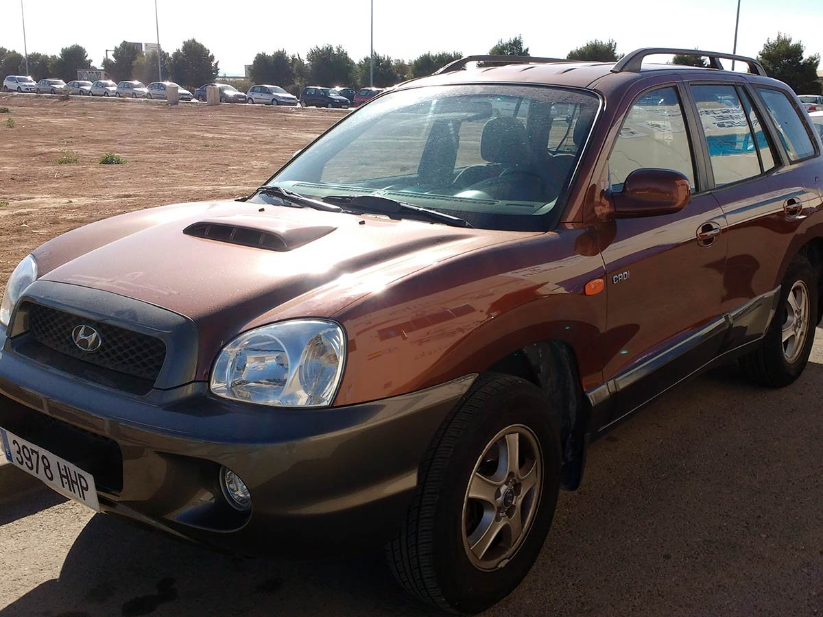 Used Hyundai Santa Fe Auto Spain