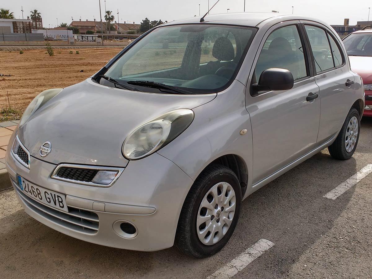 Used Nissan Micra Spain