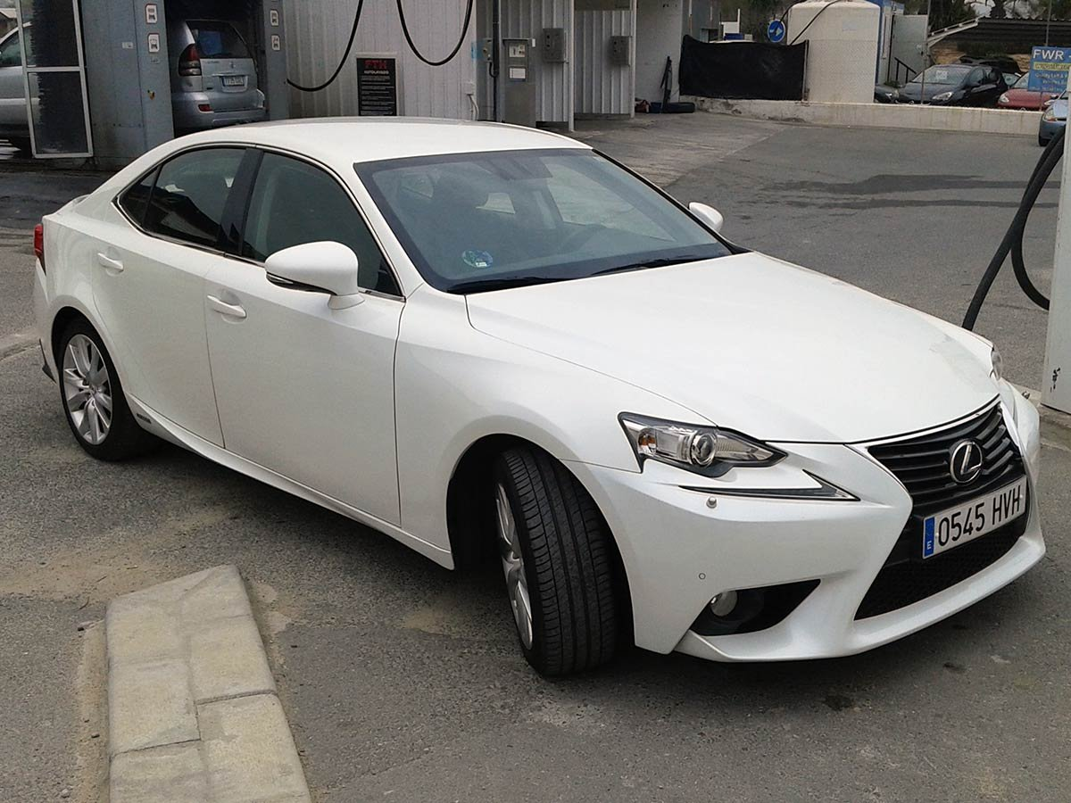 second hand lexus is300 hybrid for sale - san javier, murcia, costa