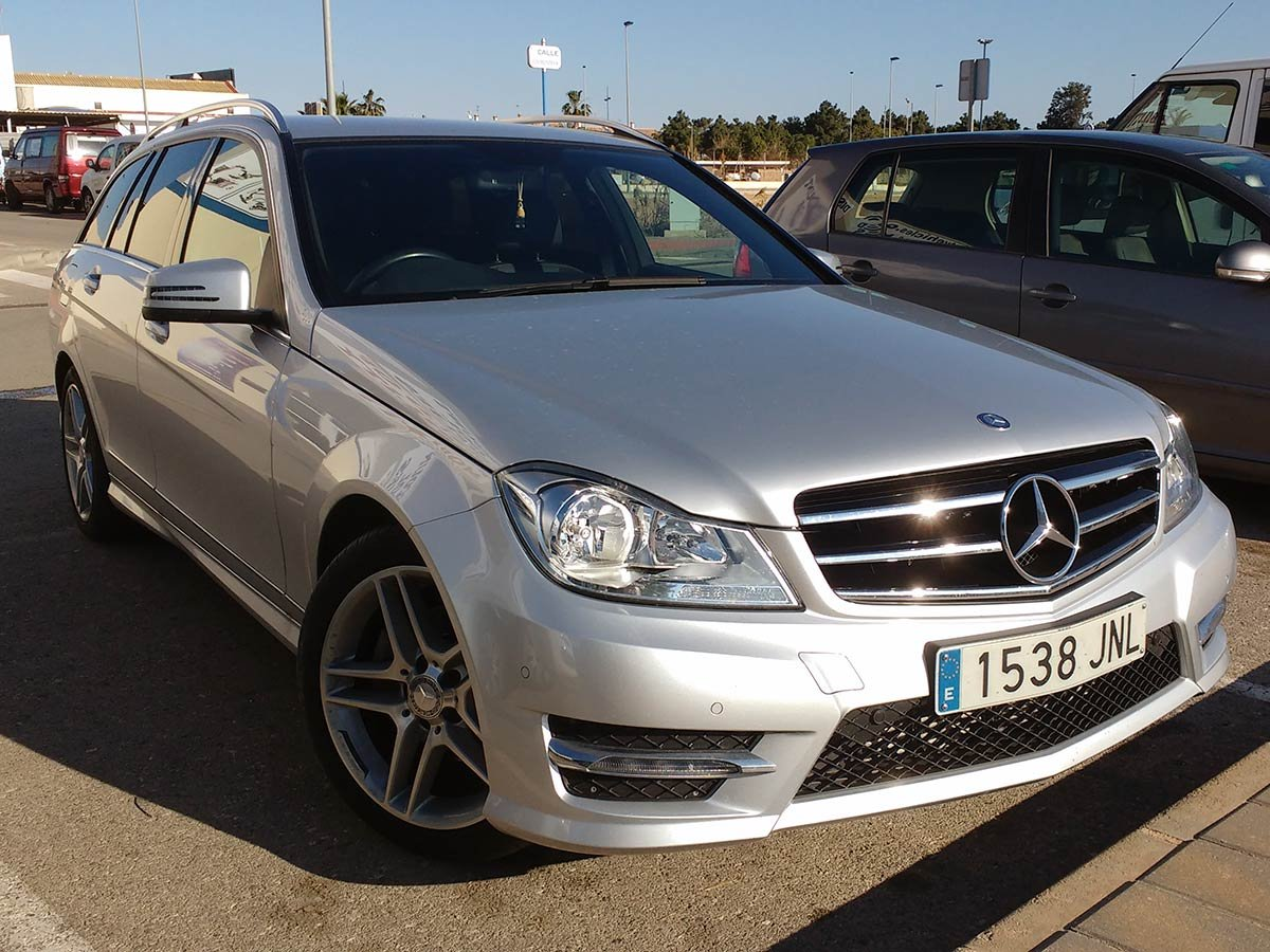 Used Mercedes C250 (RHD - ES) Spain