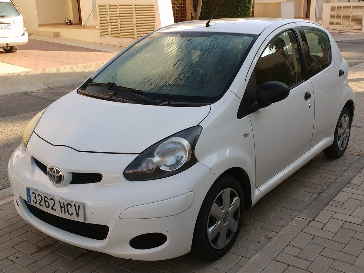 Used Toyota Aygo Spain