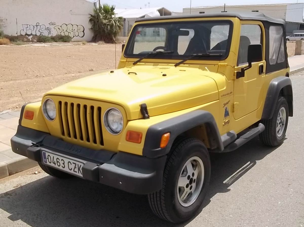 Used Jeep Wrangler Sport (RHD - ES) Spain