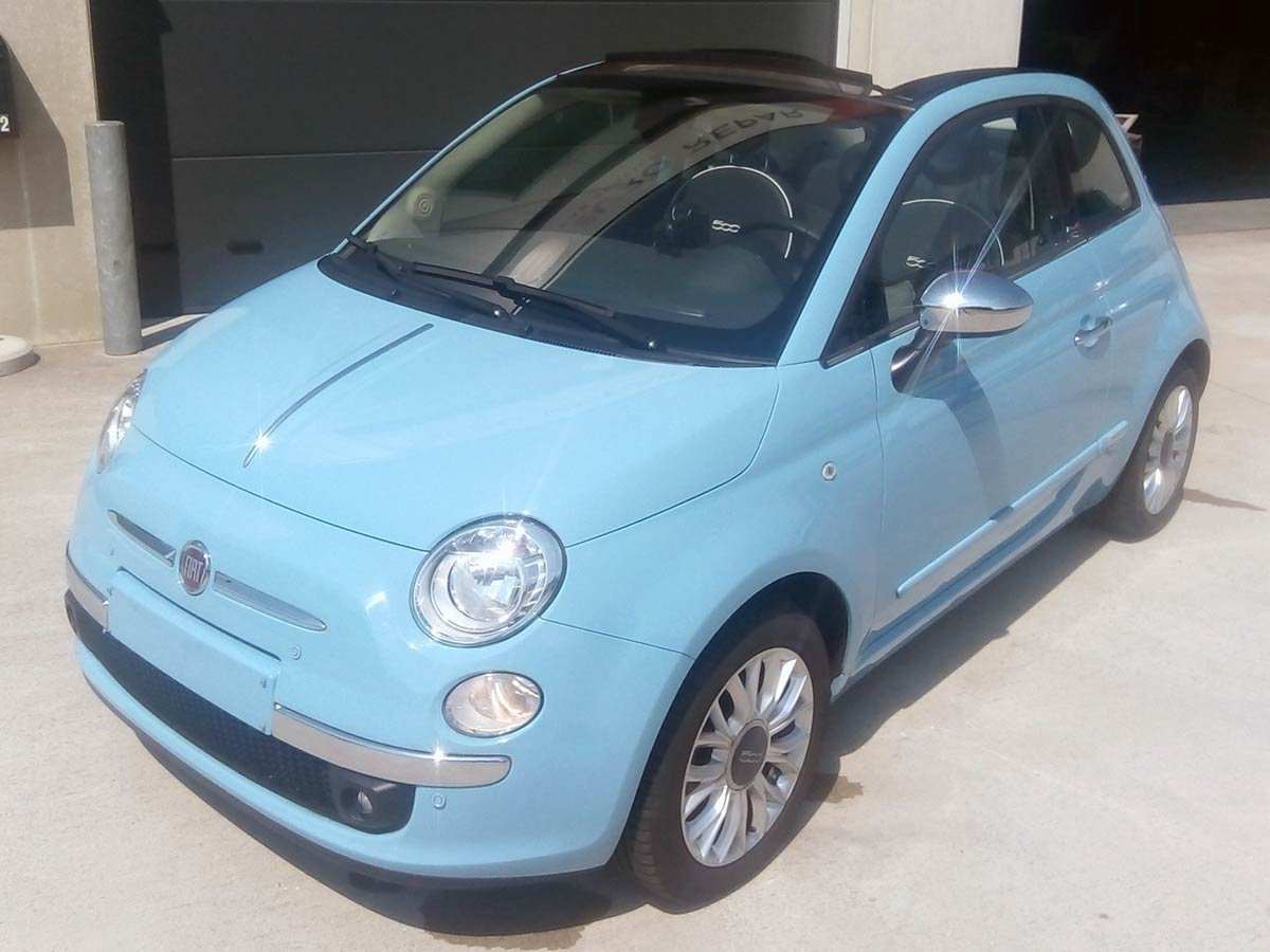 Used Fiat 500 Cabriolet Auto Spain