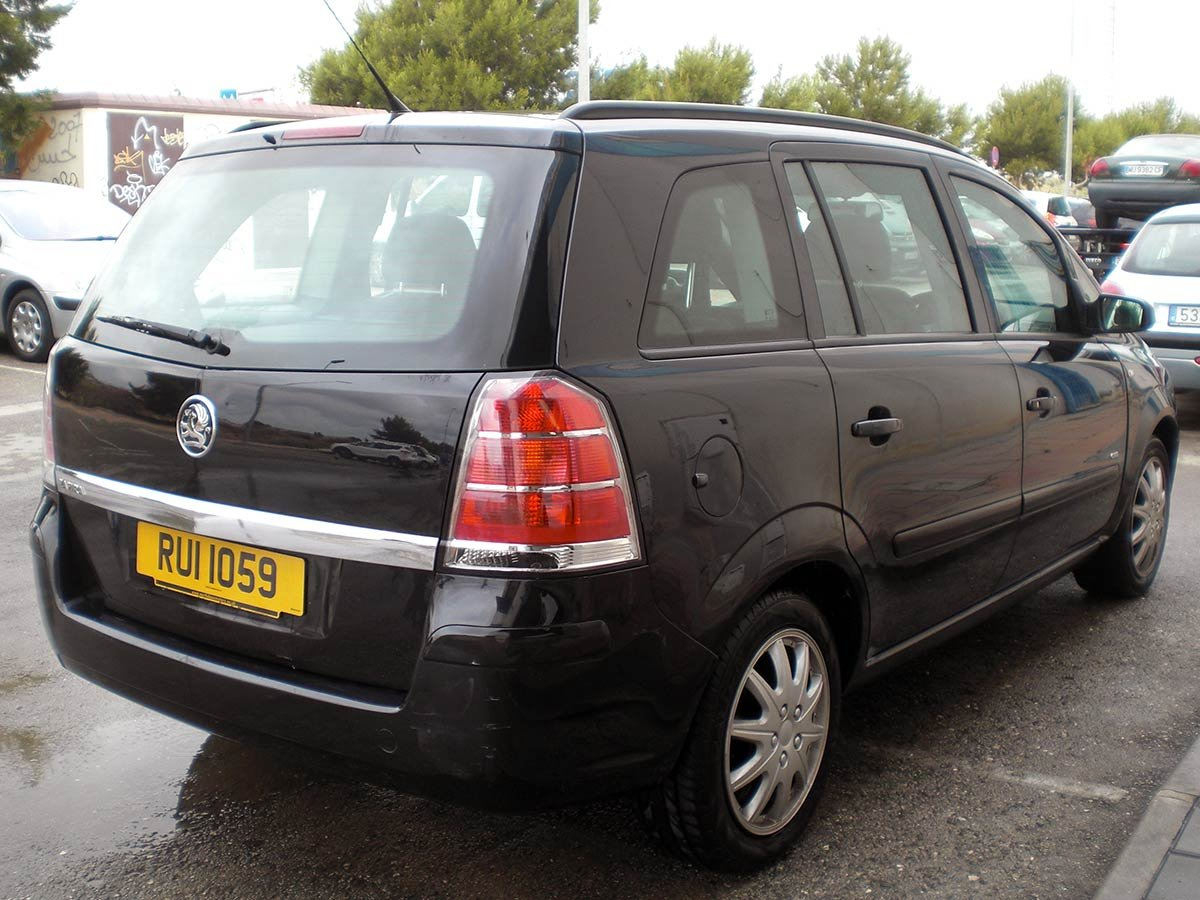 Used Electric Cars For Sale >> Second hand Opel Zafira 7-Seat (RHD - Spanish) for sale ...