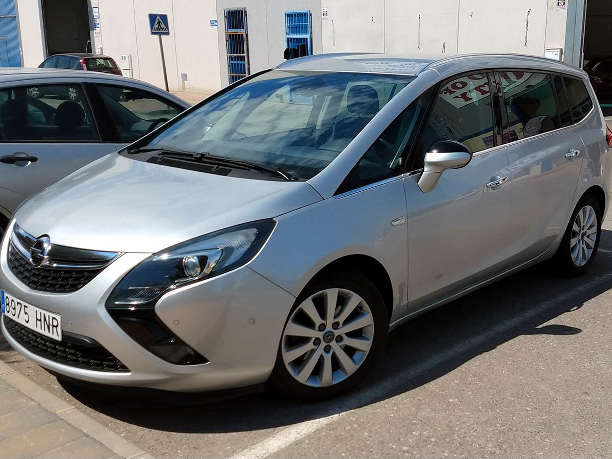 Used Opel Zafira (7 seat) Spain