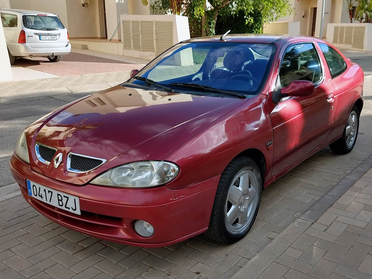 Used Renault Megane Coupe Spain