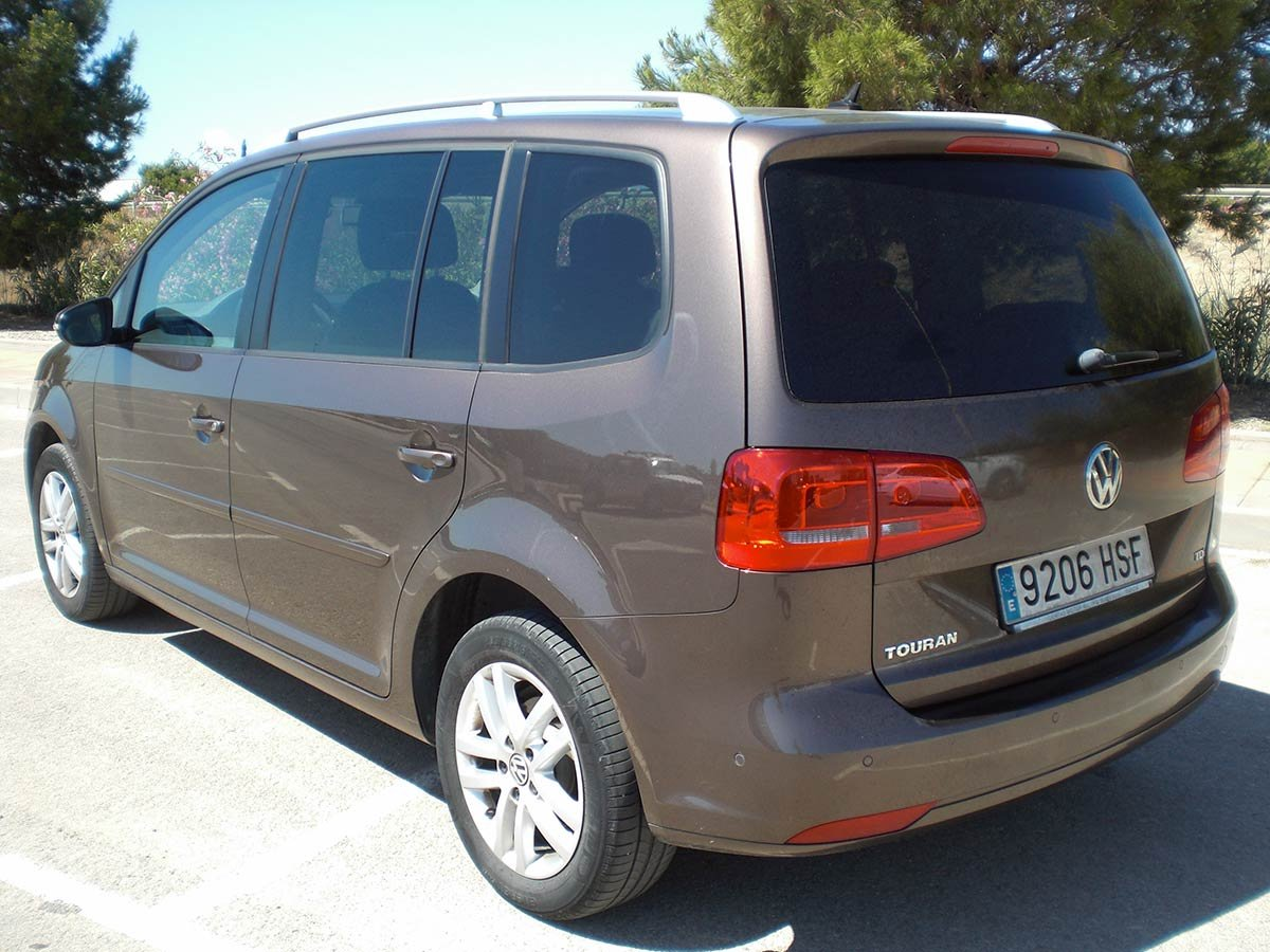 Used Electric Cars For Sale >> Second hand VW Touran 7-Seat for sale - San Javier, Murcia, Costa Blanca