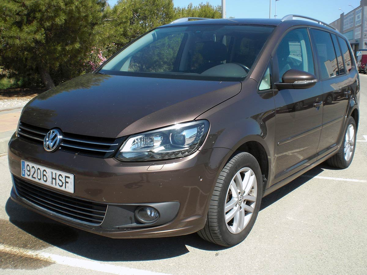 Used VW Touran 7-Seat Spain