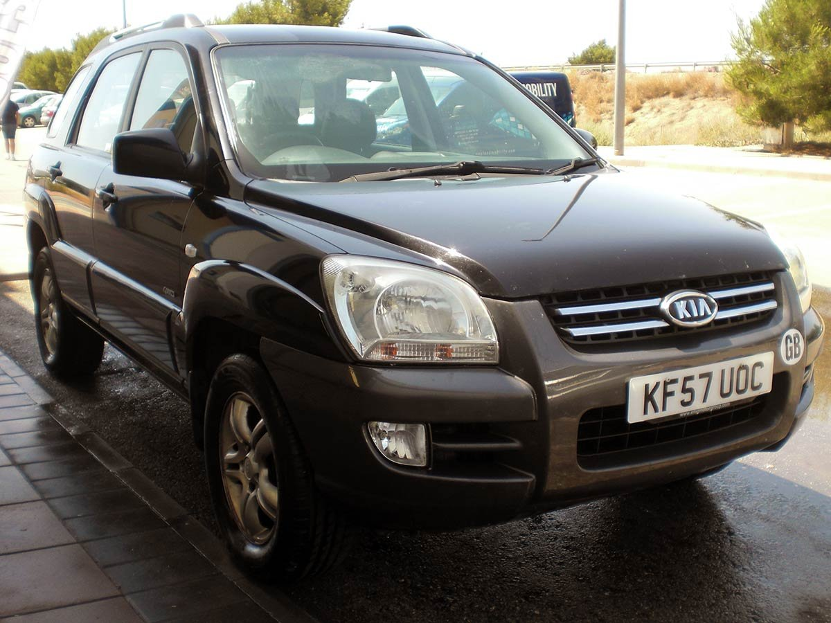 Used Kia Sportage (RHD) Spain