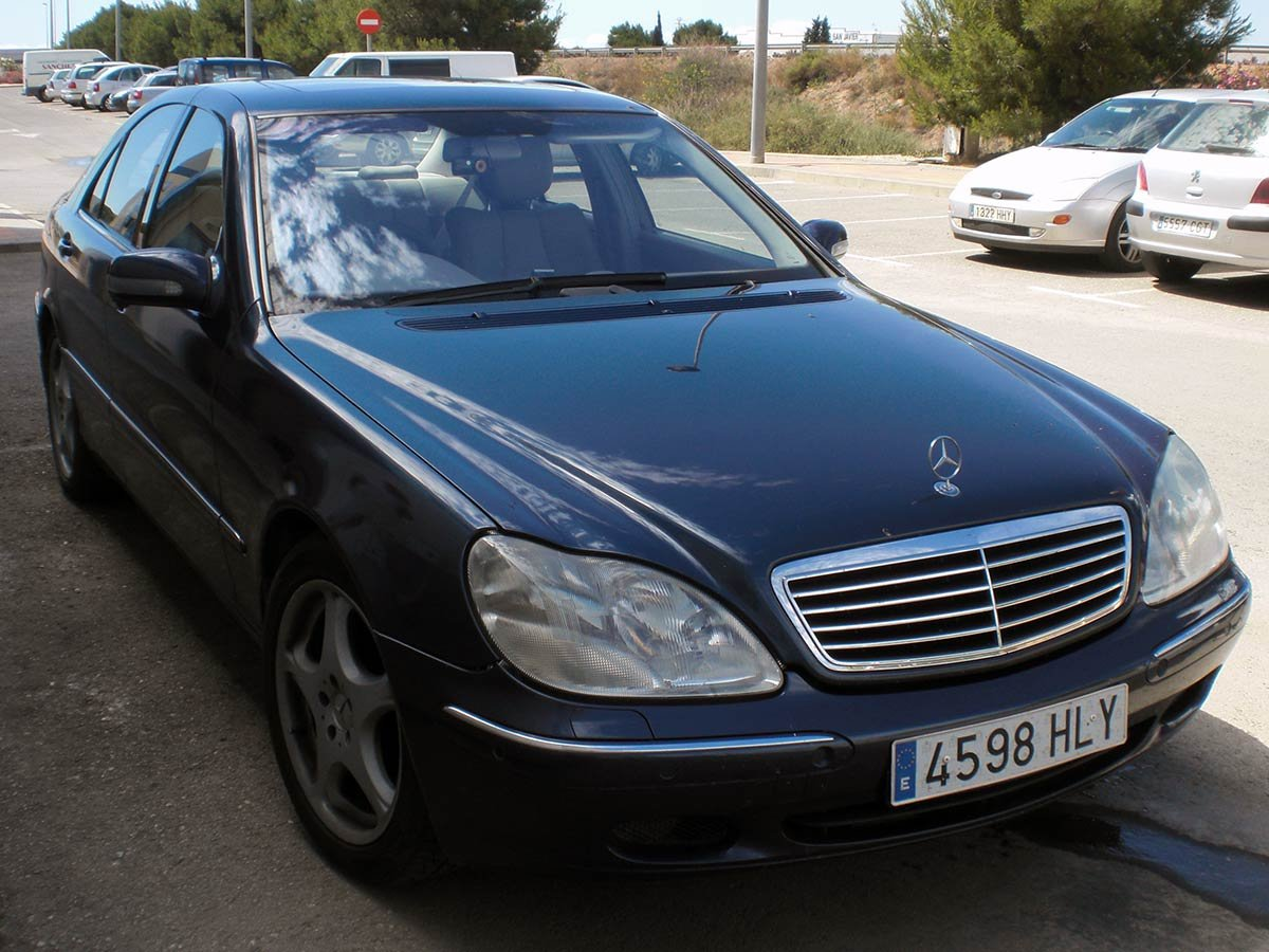 Used Mercedes S430 (RHD - ES) Spain