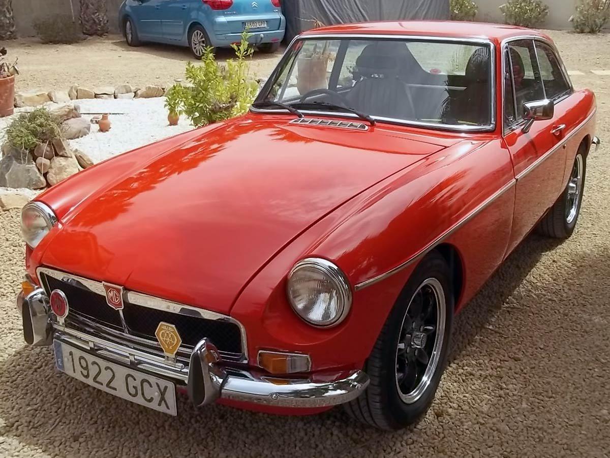 Used MGB GT Spain