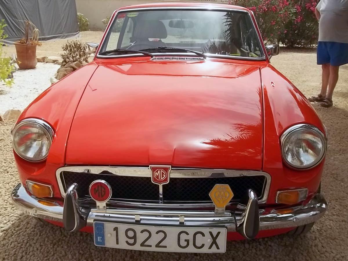 Second hand MGB GT for sale - San Javier, Murcia, Costa Blanca