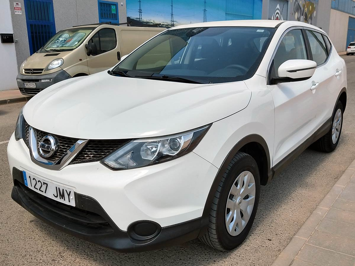 second hand nissan qashqai for sale san javier murcia. Black Bedroom Furniture Sets. Home Design Ideas