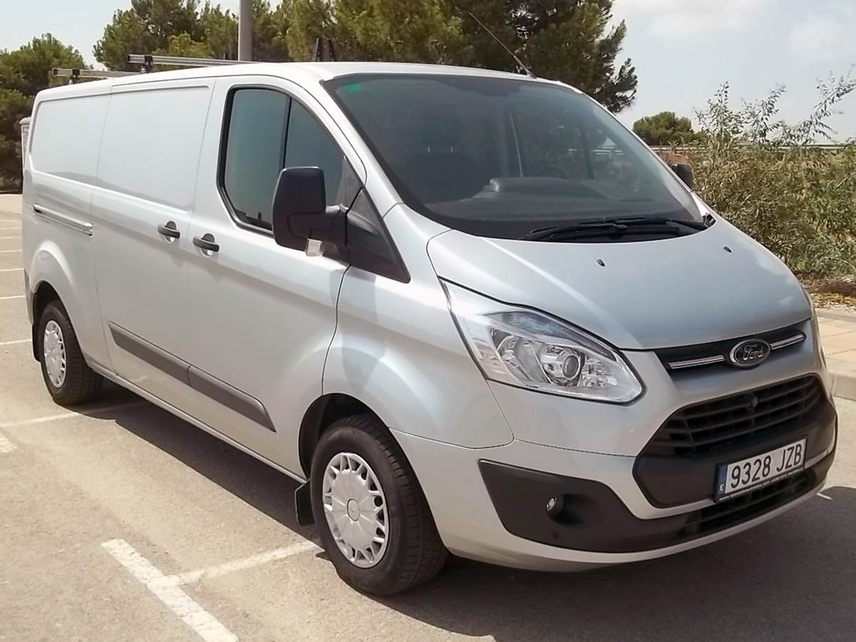 Used Ford Transit Custom L2H1 Spain