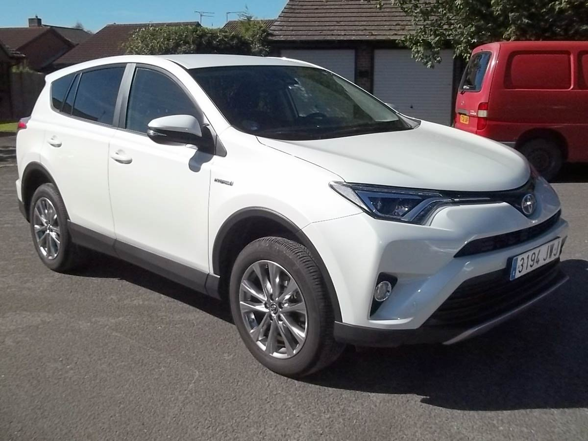 Used Toyota Rav4 Hybrid Auto Spain