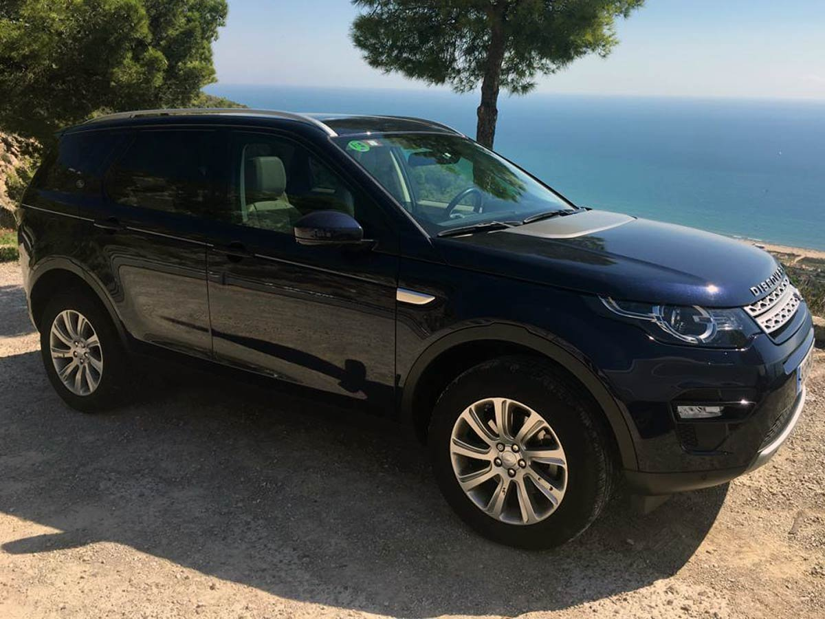 Used Landrover Discovery Sport Spain