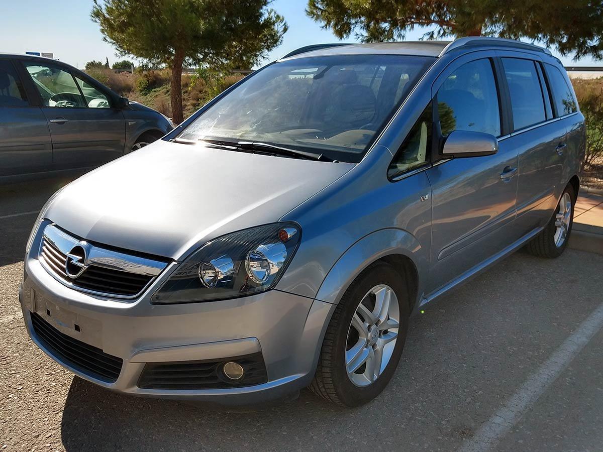 Used Opel Zafira Spain