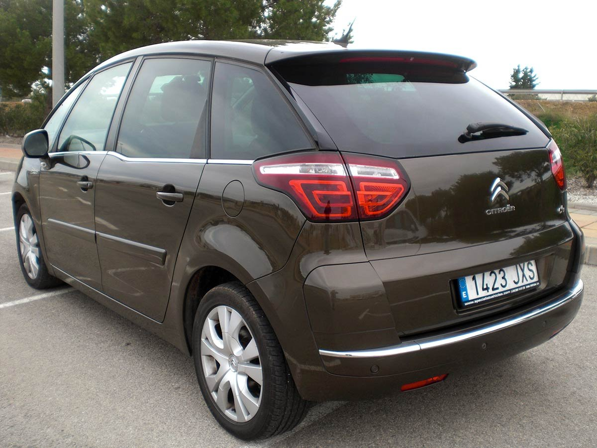 Used Electric Cars For Sale >> Second hand Citroen C4 Picasso Auto for sale - San Javier ...