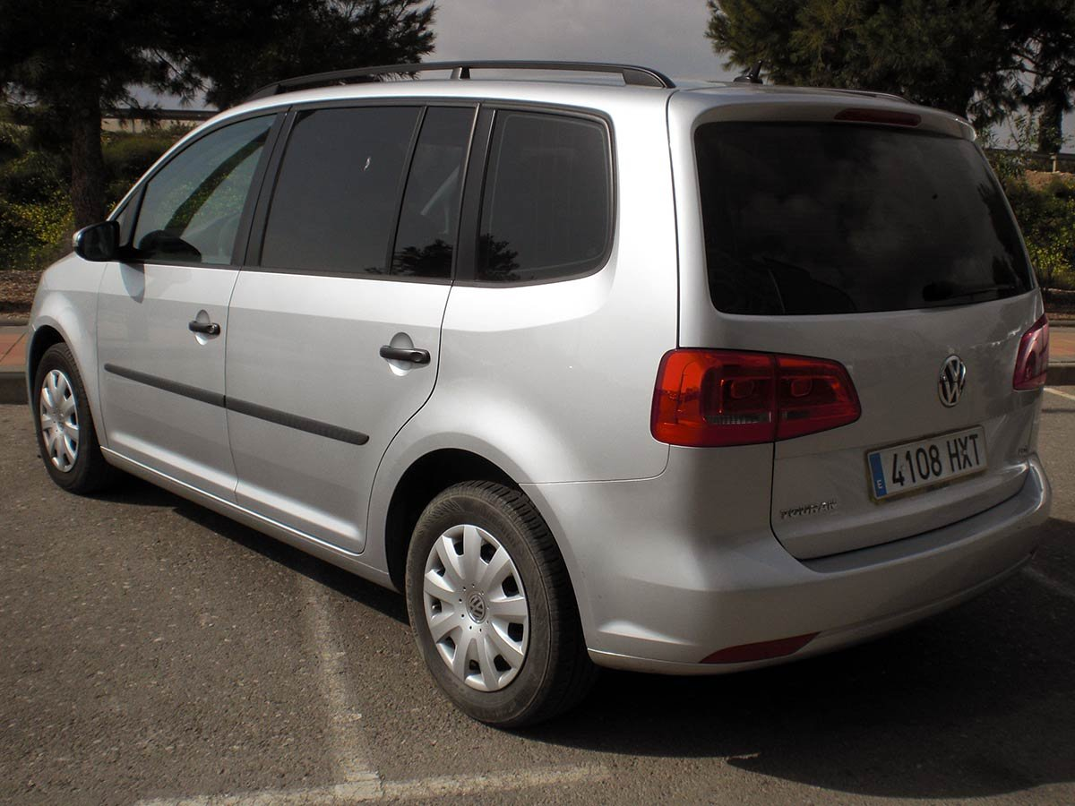 Second Hand Vw Touran 7 Seater Auto For Sale San Javier Murcia