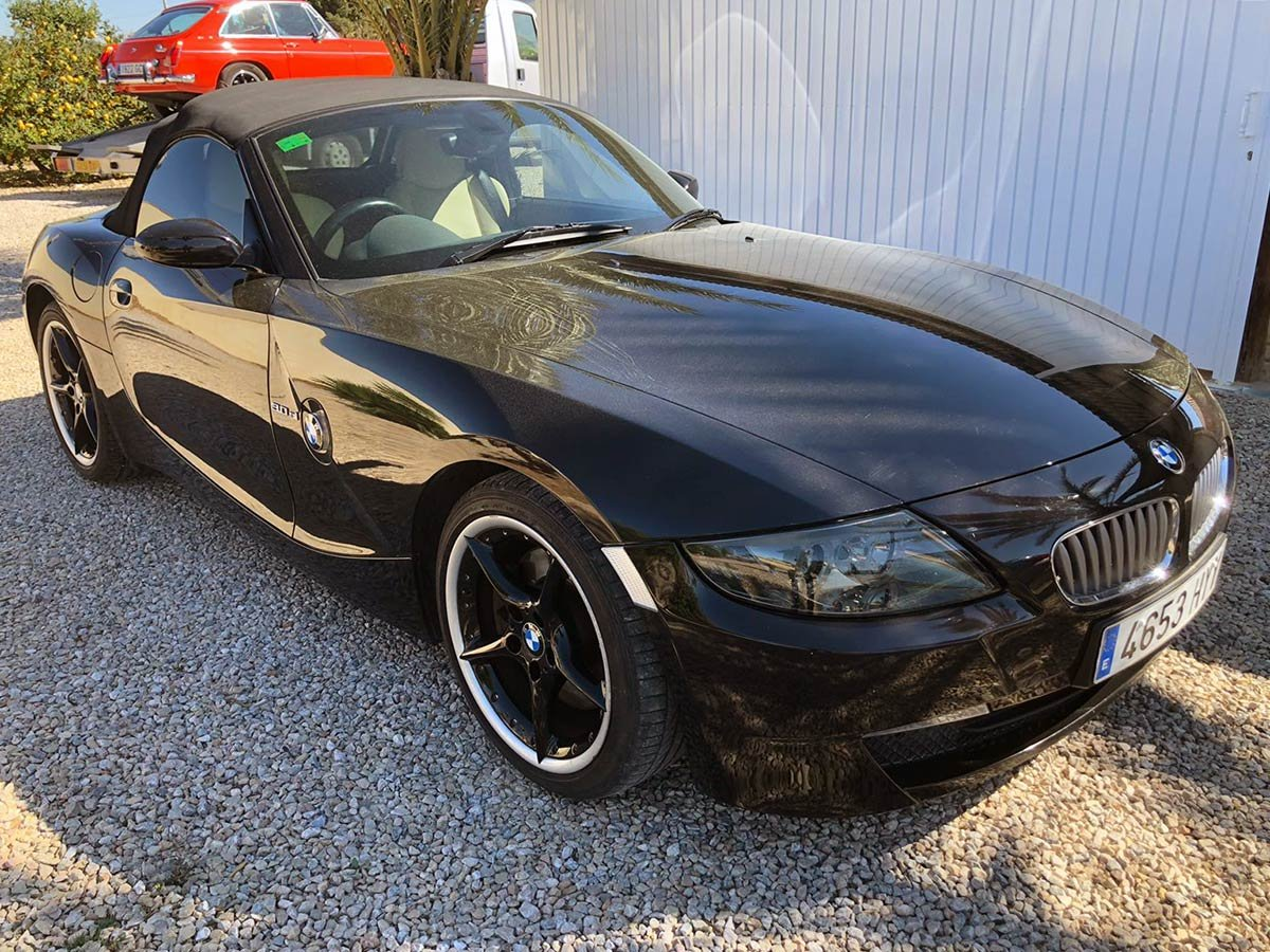 Used BMW Z4 Cabriolet (RHD) Spain