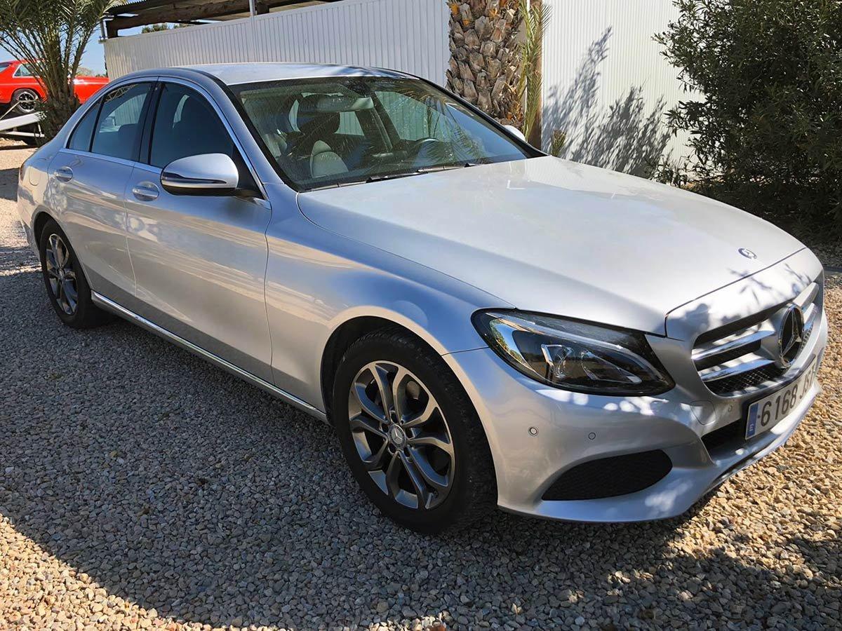 Used Mercedes C200 Spain