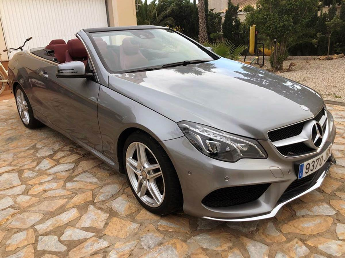 Used Mercedes E350 Sport Auto Cabriolet Spain