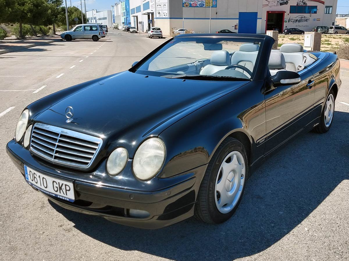 Used Mercedes CLK 200 Auto Cabriolet Spain