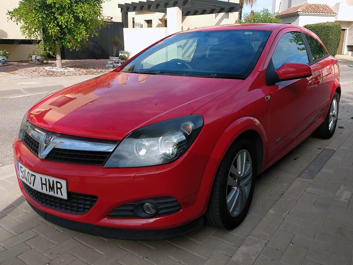 Used Vauxhall Astra (RHD - ES) Spain