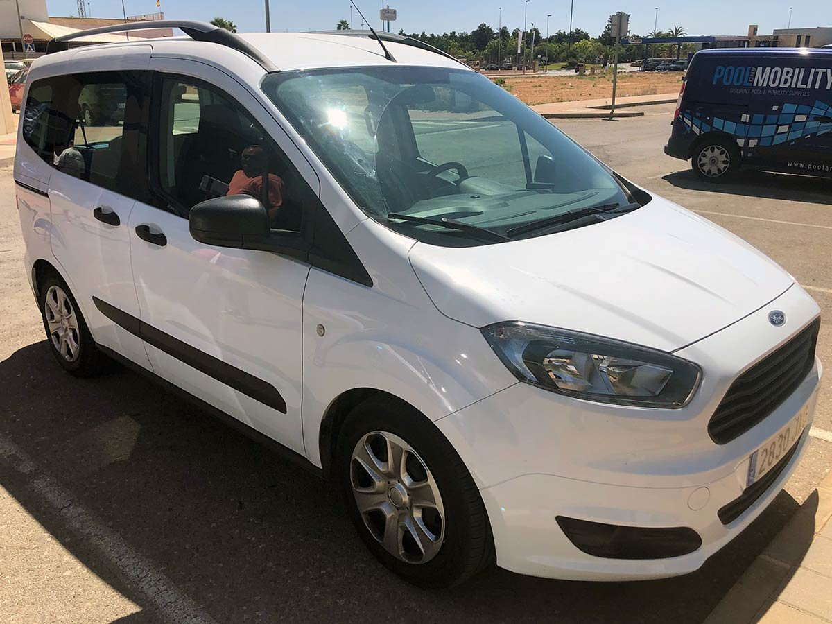 Used Ford Tourneo Courier Spain