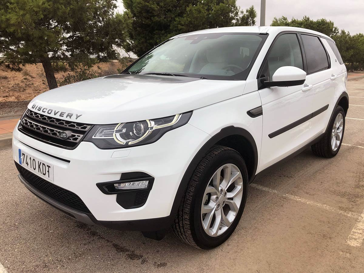 Used Land Rover Discovery Sport TD4 Spain