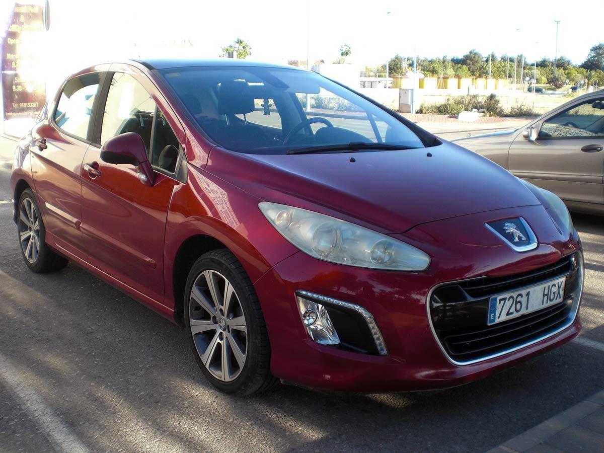 Used Peugeot 308 Spain