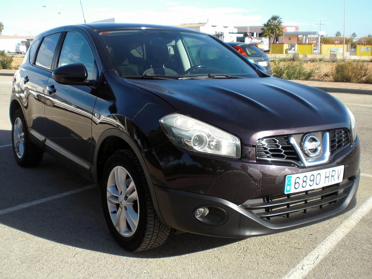 Used Nissan Qashqai Spain