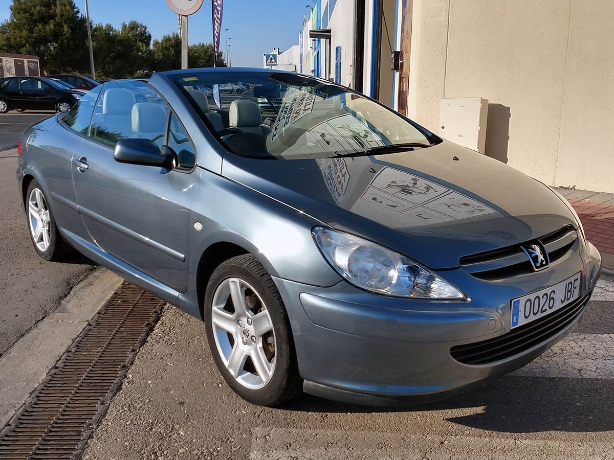Peugeot 307 CC (RHD - ES)