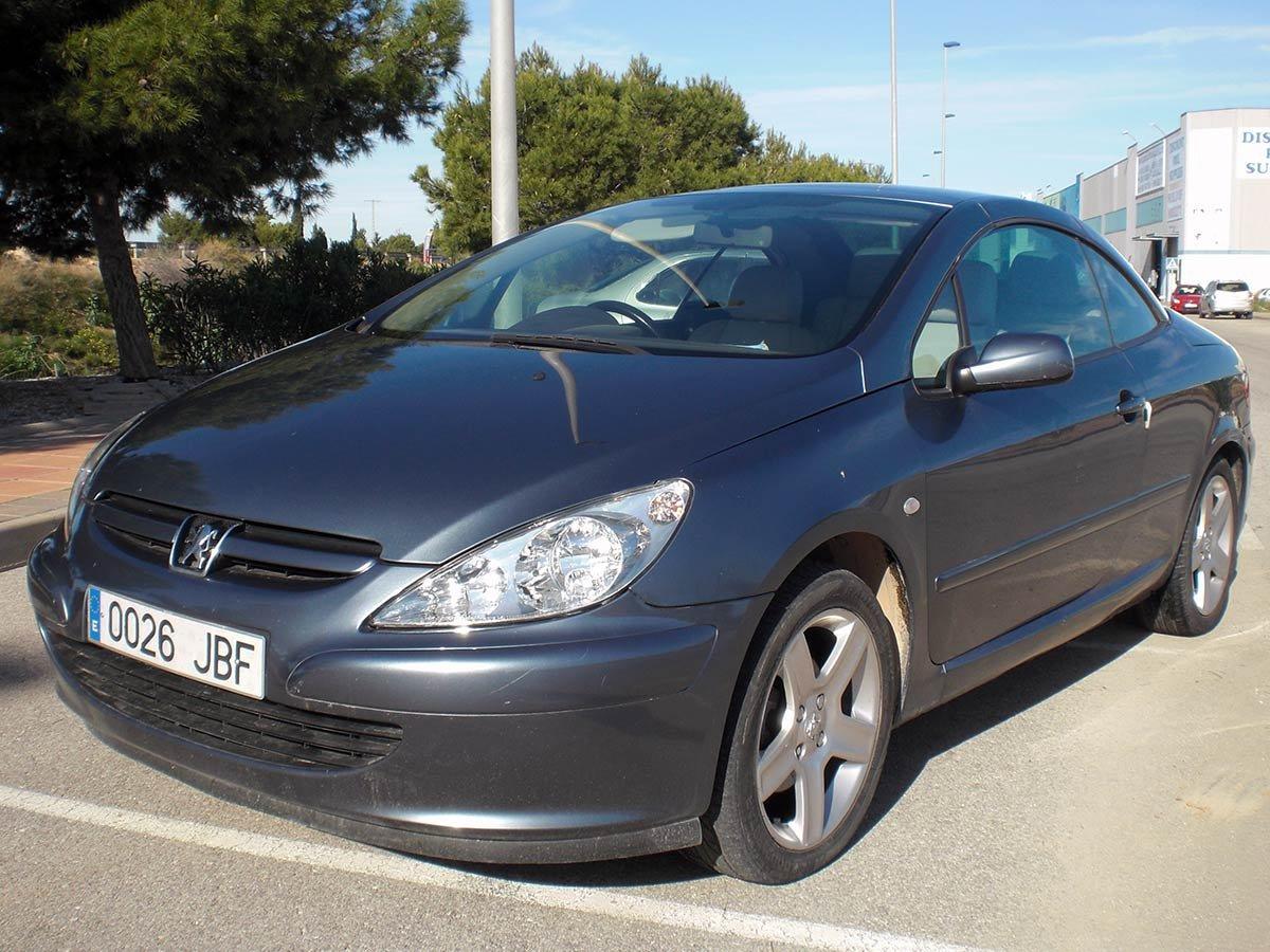 Used Peugeot 307 CC (RHD - ES) Spain