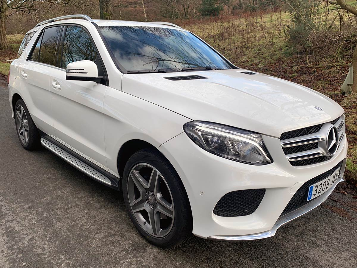 Used Mercedes GLE 250D 4-Matic AMG Spain