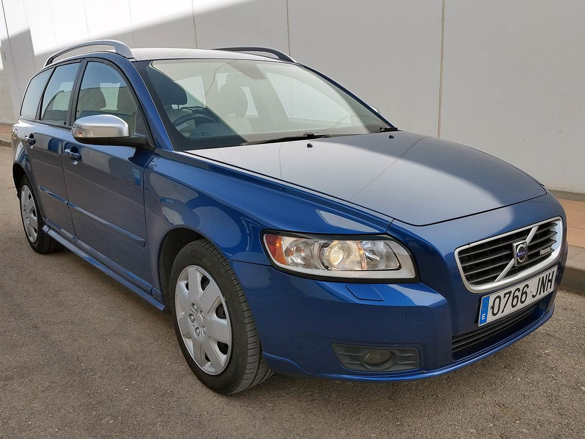 Used Volvo V50 Auto Estate (RHD - ES) Spain