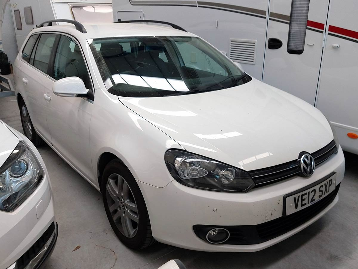 Used VW Golf Estate (RHD) Spain
